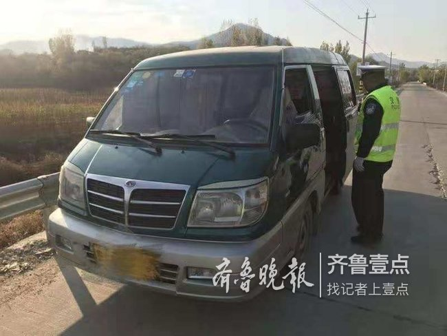 无证驾驶中型普通客车 泰安一男子将被罚款拘留