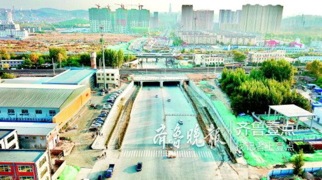 济南凤凰路涉铁路段抠通了!未来将跨黄直通济阳商河