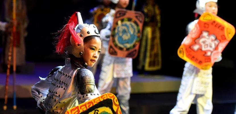 舞台剧《赤壁》在国家大剧院上演