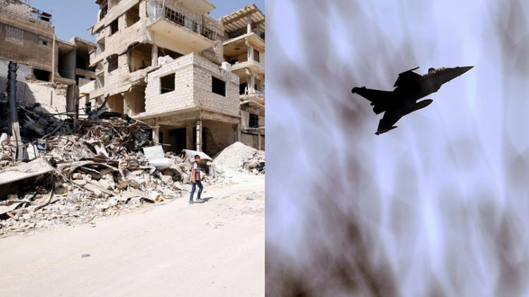 一个月内!美国联军在叙利亚空袭致超120人死亡