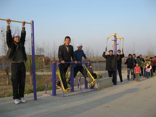 聊城市建成农村体育健身工程5097处,覆盖率达90%
