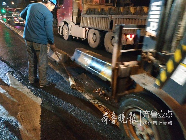 济南泺源大街隔离栏全拆了?更新后更美
