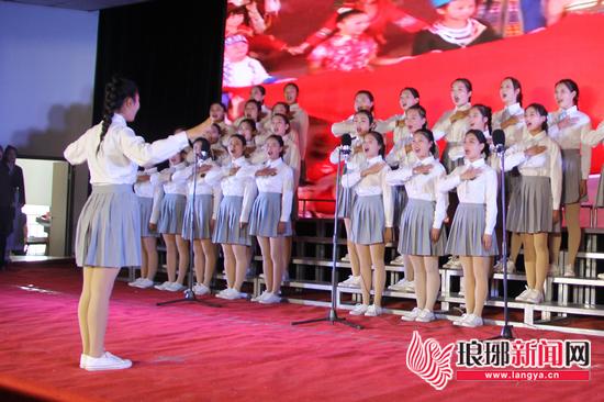 临沂第二届社团节合唱大赛举行 12支代表队参赛