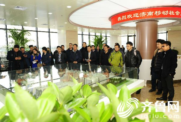 山东移动社会监督员走进位于济南高新区的中国移动(山东济南)云数据中心