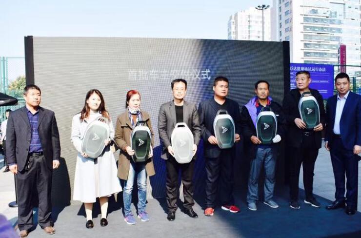 新特DEV 1潍坊正式交付用户:今年交车超4000台