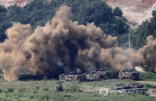 韩媒:韩美明重启海军陆战队联演 计划不向媒体公开演习场面