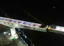 鲁南高铁肖家庄特大桥连续梁转体施工