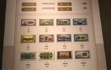 中国名片亮齐鲁——人民币发行70周年纪念展开幕