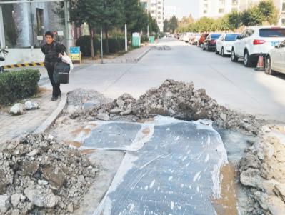 多次因水管爆裂停水 淄博盛世名苑小区自来水管道频繁出现问题