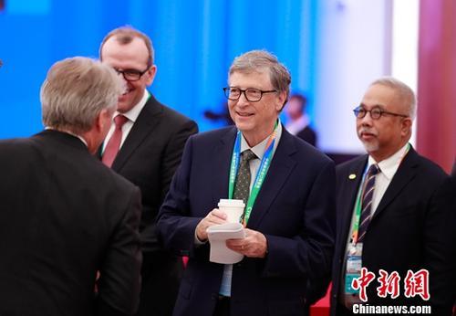 比尔·盖茨亮相进博会:中国可成脱贫重要力量