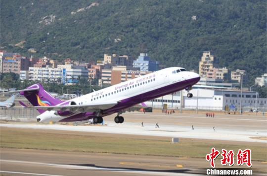 乌鲁木齐航空将于明年年底前接收5架ARJ21飞机