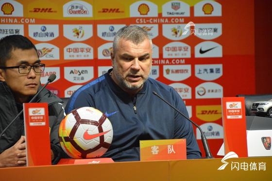 苏宁主帅称赞球队防守做得好 埃德尔希望延续高光表现