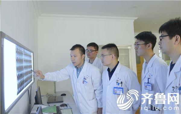 用微笑感染患者,用医术击退病魔 记烟台毓璜顶医院吴吉涛
