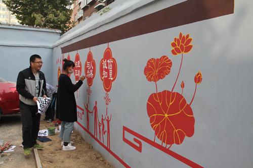 济南全福完成15万平米老旧小区改造
