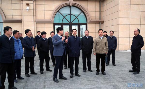 中铁专家组来我市现场踏勘京沪高铁二通道东营南站