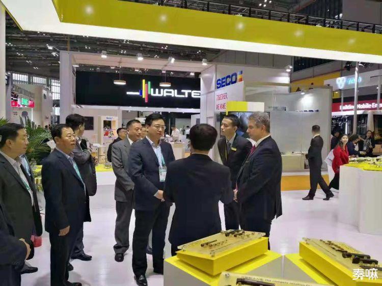 陈飞带队参加首届中国国际进口博览会
