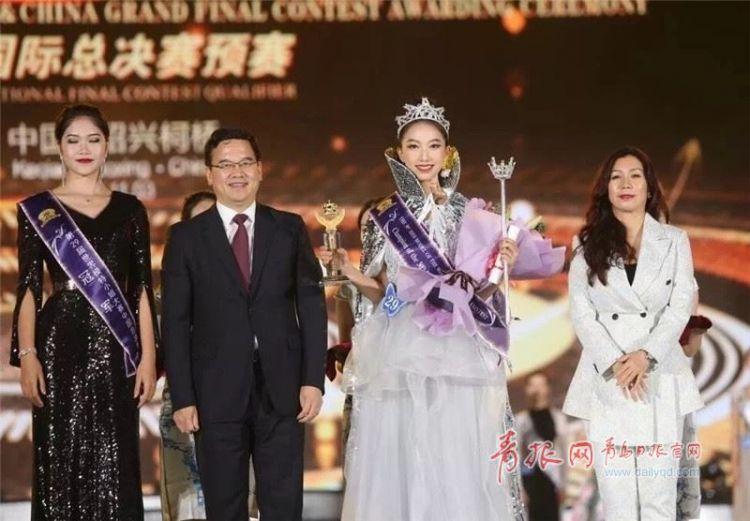 青大学生荣获世界模特小姐大赛中国冠军 现场美图来啦