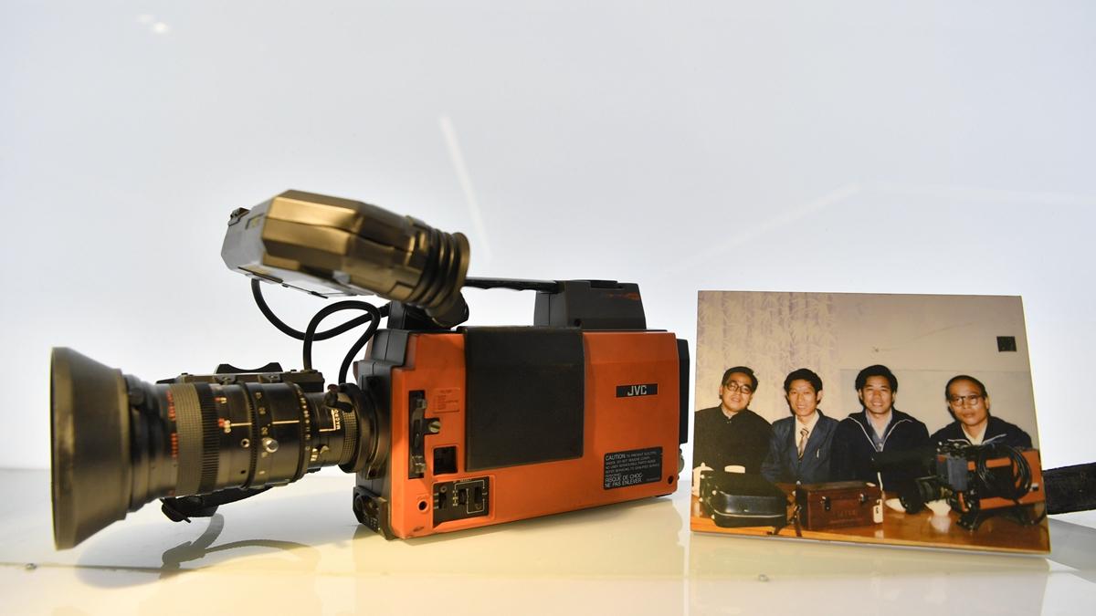 """探访山东广播电视台展览馆   """"红旗牌摄影机""""你见过么?"""