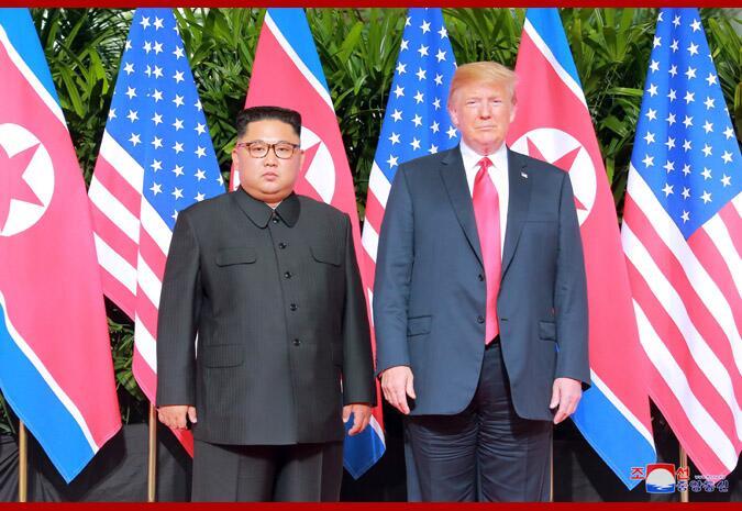 特朗普称希望明年初与金正恩会面 不急于和朝达成协议