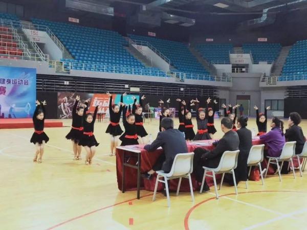 济宁市第八届全民健身运动会体育舞蹈比赛落幕