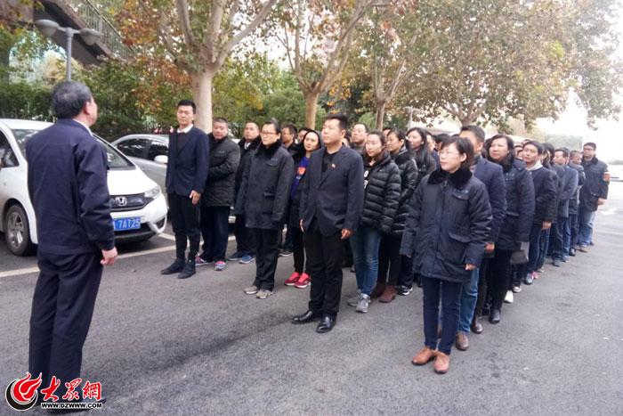 济南水务集团组织关键岗位职工到省监狱开展警示教育活动