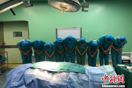 江苏电工在安徽点燃希望之光:为5人捐献生命礼物