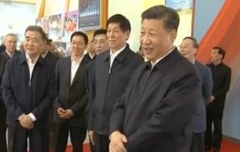 习近平参观庆祝改革开放40周年大型展览