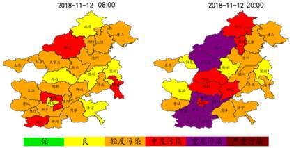 京津冀遭遇空气重污染 专家:排放量进入年度最高季节