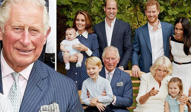 查尔斯王子迎70岁生日 英王室晒出祖孙3代温馨照