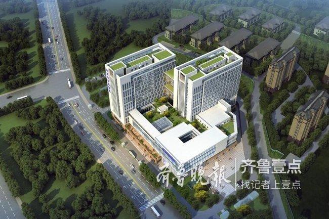 济南市中医院东院区正批前公示,有望明年上半年开工