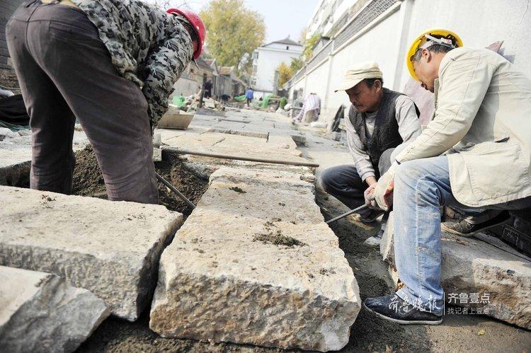 千斤青石板铺路,芙蓉街将重现老茶巷