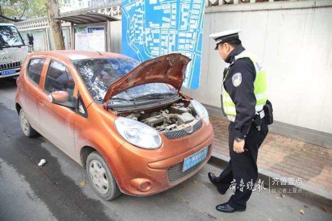 济南一司机无证驾驶老年代步车被查,罚款还面临行拘