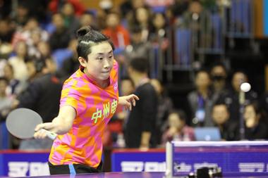 完胜!乒超女子团体山东鲁能3:0中州电缆