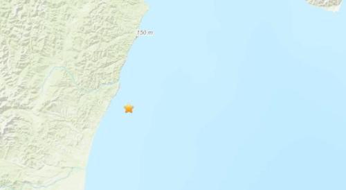 俄堪察加东岸近海连发两次地震 最大震级为6.0级