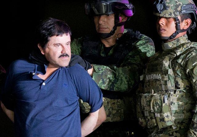 """墨大毒枭受审 试把总统""""拉下水"""""""