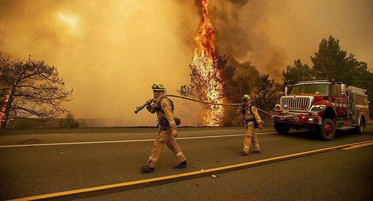 灾上加灾?加州消防局:火灾可能会被降雨取代并引发洪水