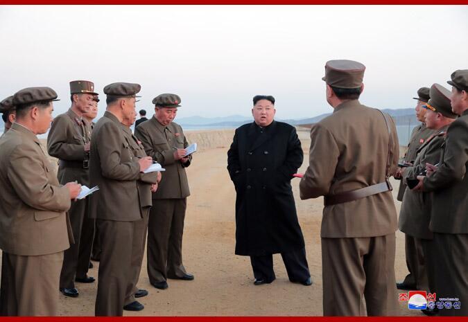 朝鲜成功进行新型尖端战术武器试验后,美国说话了