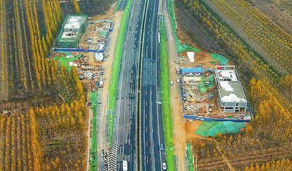 "G220长清绕城段月底将通车 长清黄河大桥有望""吃饱"""