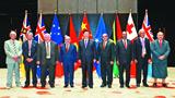 习近平同建交太平洋岛国领导人举行集体会晤并发表主旨讲话