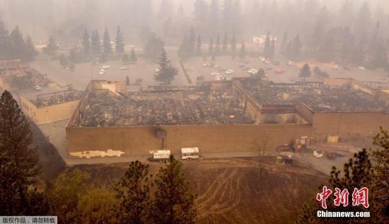 美加州山火致逾1000人失踪 名单仍在不断更新中