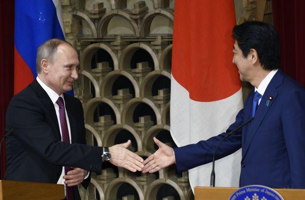 """普京就向日本移交两岛""""打太极"""":移交依据和主权归属需谈判"""