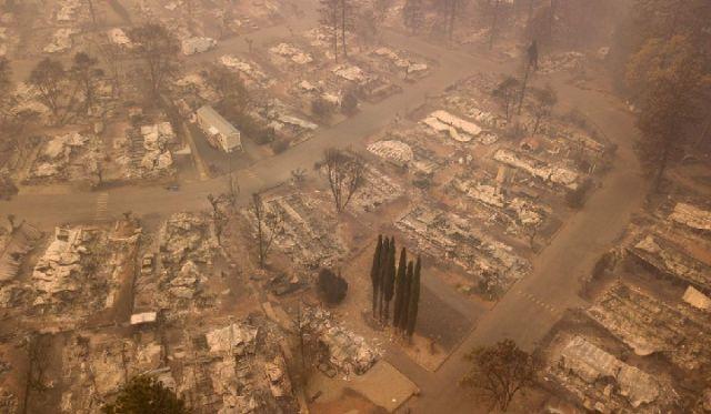 加州山火失联631人