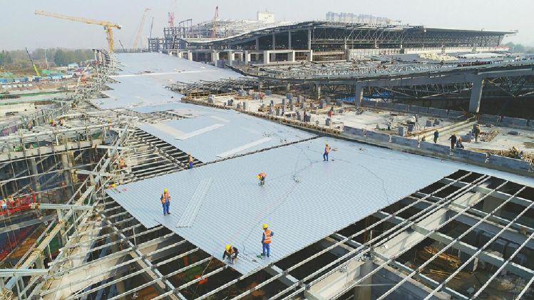 西部会展中心明年5月底竣工