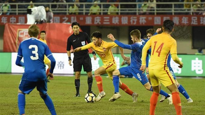 国际青年足球锦标赛:U21中国1-1战平冰岛