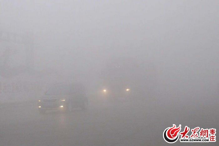 能见度不足200米 枣庄发布大雾橙色预警