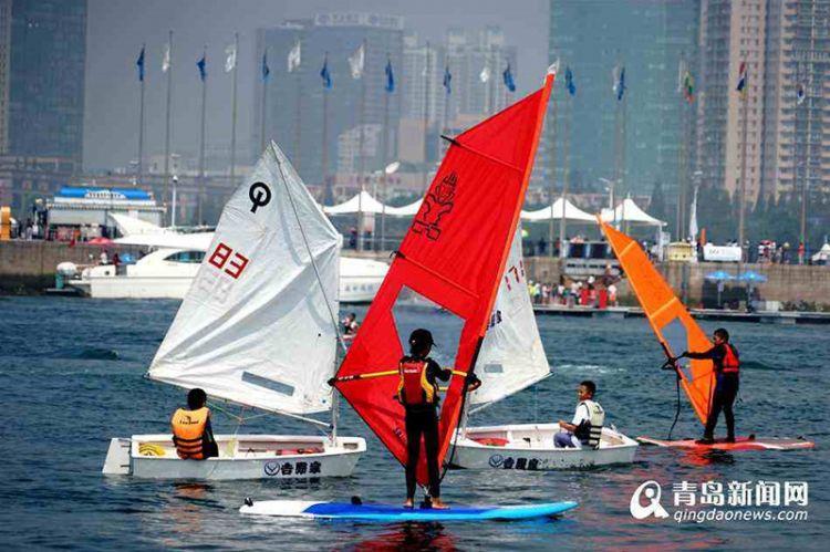 青岛帆船赛事要领跑亚洲 中国帆船城市发展联盟启动