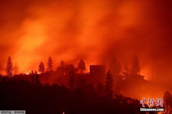 美国北加州山火致79人死亡 失踪人数降至700人