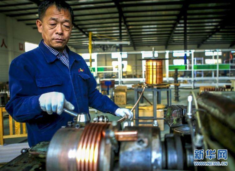 河北饶阳:科技引领民营铁路配件企业提档升级
