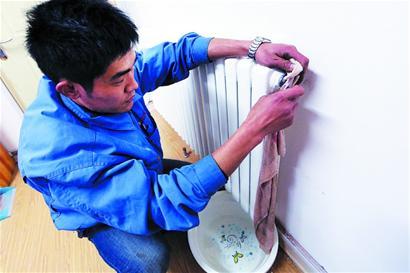 暖气不热多因有积气 用户不要盲目私自放水