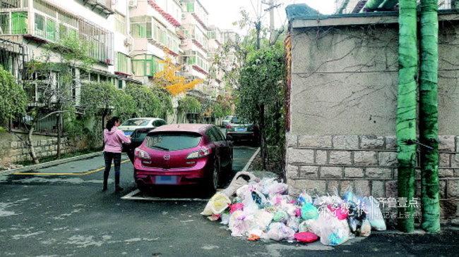 运价没谈拢,垃圾成堆!济南有小区仍存在脏乱差现象